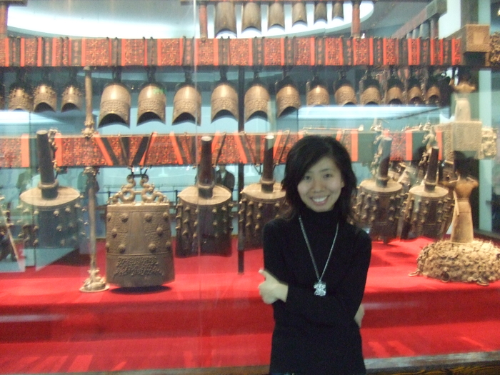 65 pieces set bells(bronze chime bell) 2400 years ago-able to play modern music--from Marquis Yi's Tomb
