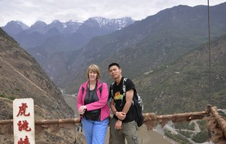 Image of The British embassy staff tour - two days treking at Tiger Leaping Gorge