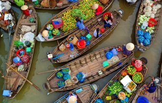 Image of Mekong Delta by motorbike/ car (full day)