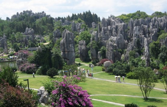 Image of China-Shilin Stone Forest