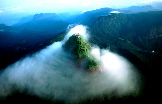 Image of Adams peak -SRI LANKA